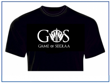 T-Shirt - Game of Seidlaa GOS - XXUwe